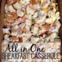 All in One Breakfast Casserole