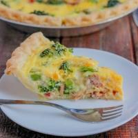 Easy Bacon Broccoli Quiche Recipe