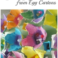 How to Make Beautiful Egg Carton Flowers