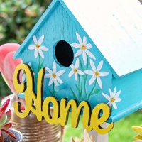 Painted Birdhouses - Easy Spring Craft Idea