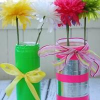 DIY Duck Tape® Spring Vase