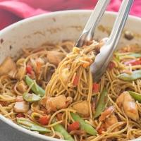 One Pot Chicken Chow Mein Recipe