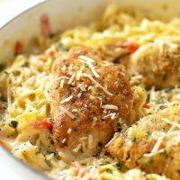 Copycat Olive Garden Tuscan Garlic Chicken
