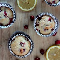 Cranberry Lemon Muffins Recipe