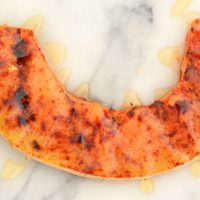 Sweet + Spicy Grilled Cantaloupe