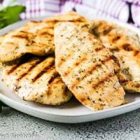 Italian Marinated Grilled Chicken
