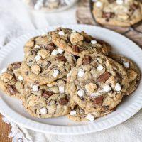 S'mores Cookies • Bakerita