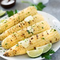 Easy Grilled Corn on the Cob