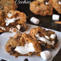 S'Mores Stuffed Cookies Recipe