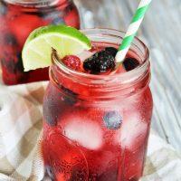 {Starbucks Copycat} Very Berry Hibiscus Refresher